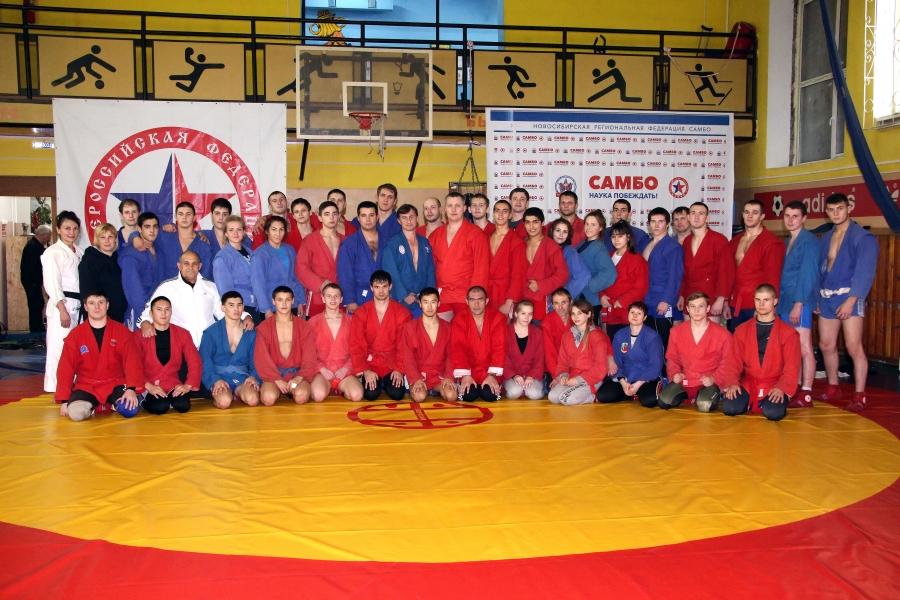 Самбо: новосибирские тренеры повышают мастерство
